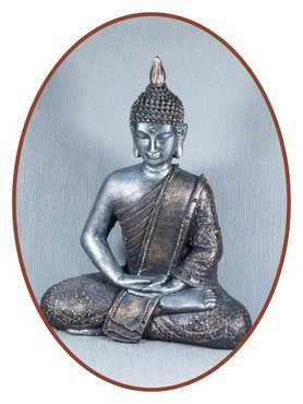 Midi Urn/ Memorybeeld Outside Thai 'Buddha' 27cm  - BU080