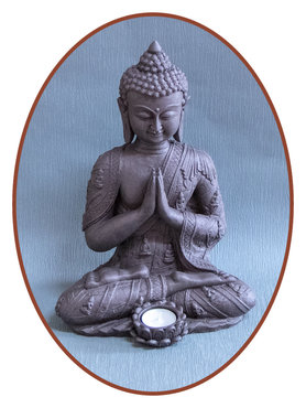 Midi Urn/ Memorybeeld Thai 'Buddha' 33cm - BU078