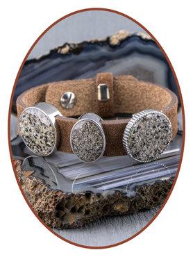 As Schuiver voor (Cuoio) Lederen Dames Armband - CU001