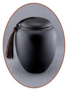 Midi Urn 'Ceramic Black' - AU005A