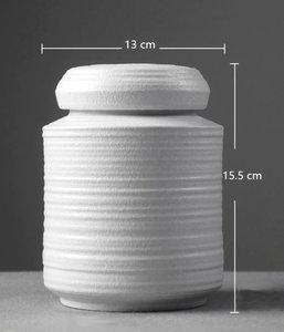 Midi Urne 'Ceramic White' - AU007A