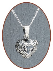 925 Sterling Zilveren 'Hart' Design (As) Locket - ZSP021