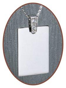 925 Sterling Zilveren Graveer Hanger - ZG03