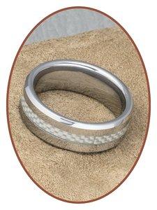 Tungsten Carbide Graveer Ring - KR562