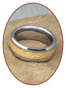 Tungsten Carbide Graveer Ring - KR566
