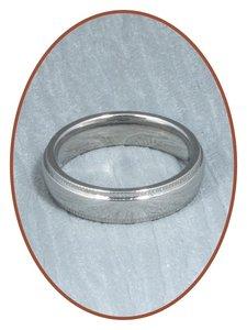 316L Edelstalen Graveer Ring - KR9598