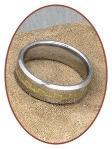 Tungsten Carbide Graveer Ring - KR3108