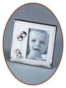 Aluminium fotolijstje 'Beertje' met Zirconia - GA055A
