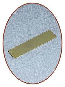 Metalen Graveer Plaatje - EPG2