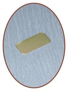 Metalen Graveer Plaatje - EPG5
