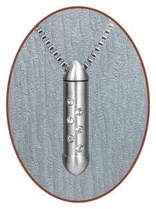 Edelstalen/RVS JB Memorials Premium Zirconia Ashanger - B021