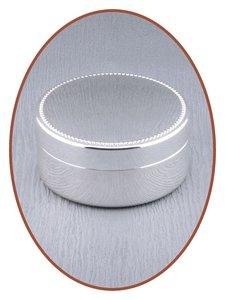 Graveerbare Memory Box / Mini Urn 'Round' - M387
