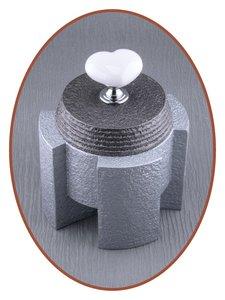 Mini Design As Urn 'Ceramic Heart' in Diverse Kleuren - HM433