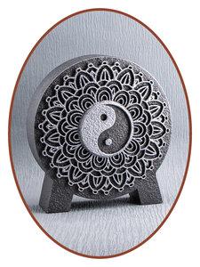 Mini As Urn 'Mandala Yin Yang' in Diverse Kleuren - HM427A