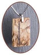 "JB ""Nature Wood"" Gestabiliseerd Houten Ashanger - NL001"